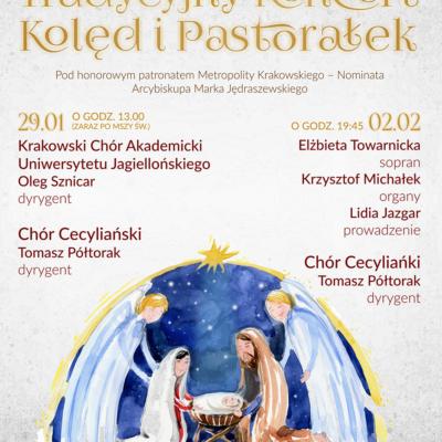 Tradycyjny Koncert Kolęd i Pastorałek