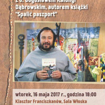 Spotkanie autorskie z o. Bogusławem Dąbrowskim