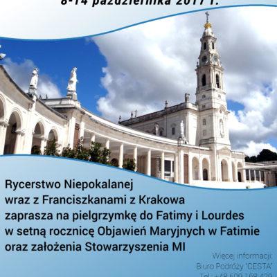 Pielgrzymka Lourdes i Fatima