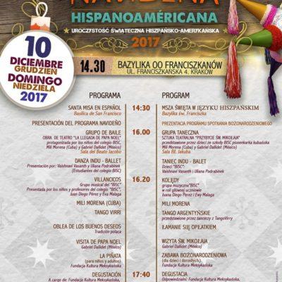 Fiesta Navidena Hispanoamericana