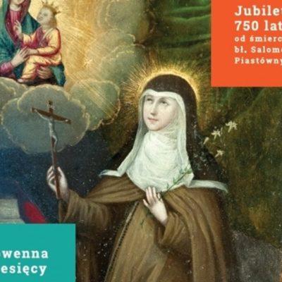 Nowenna miesięcy w Jubileuszowym Roku: 750 lat od śmierci bł. Salomei