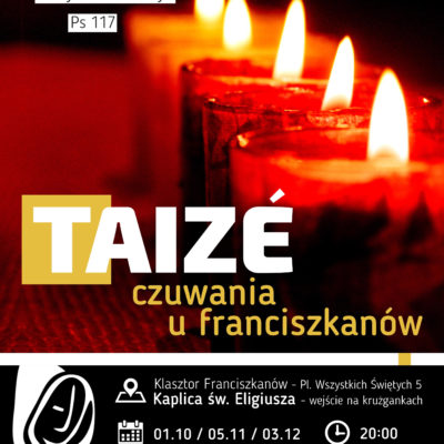 Taize – czuwania u franciszkanów